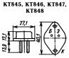 Транзистор КТ845, 2Т845 доставка из г.Новоалександровск